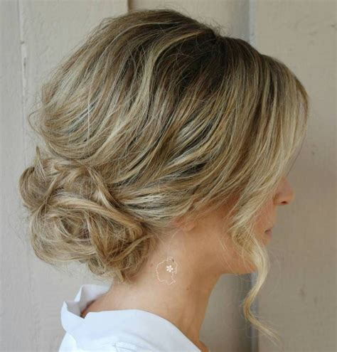loose curly bun hairstyles 40 quick and easy short hair buns to try prom short