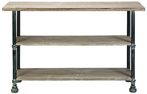 outdoor console table