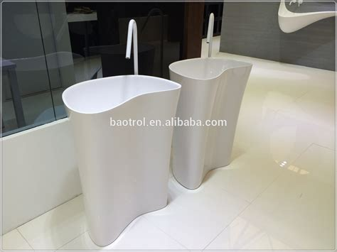Good Price Free Standing Bathroom Sink/stand Alone Sinks