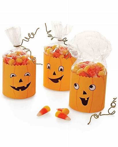Favors Halloween Party Treat Bags Pumpkin Clip