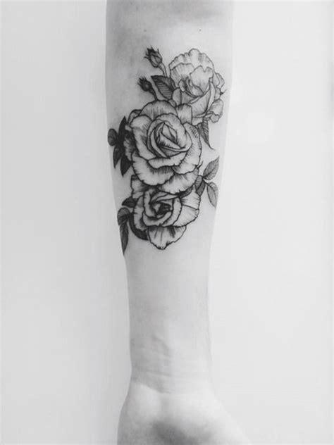 forearm rose tattoo  lady ink inspiration forearm
