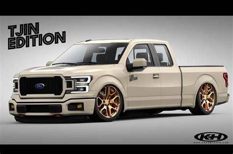 wild  crazy ford  series trucks  sema
