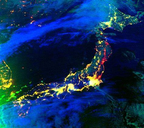 Electricity Losses In Northeastern Japan Natural Hazards