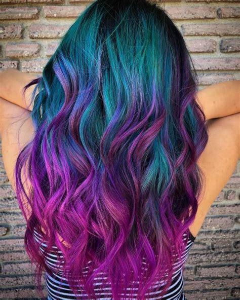 incredible galaxy hair color ideas