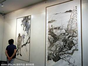 Contemporary Chinese paintings on display in Suzhou[10 ...