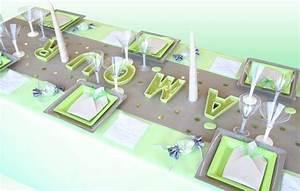 Deco Vert Anis : d coration mariage couleur vert anis id es et d ~ Teatrodelosmanantiales.com Idées de Décoration