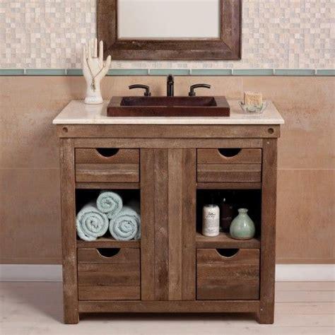 funky bathroom ideas this rustic vanity faucetsnfixtures vanities we