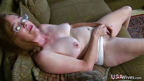 usawives hairy granny pusssy fucked with blue sex toy pornerbros