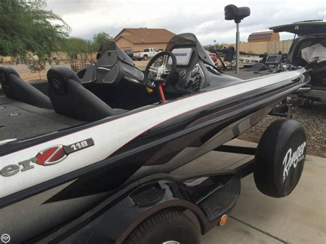 Used Ranger Z118 Bass Boats For Sale by 2013 Used Ranger Boats Z118 Bass Boat For Sale 30 000