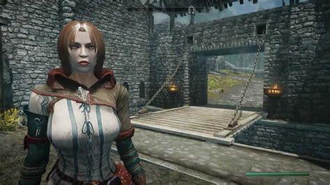 armor retextured dv at skyrim nexus mods and community skyrim triss armor skyrim mods do dia 2 triss armor Triss