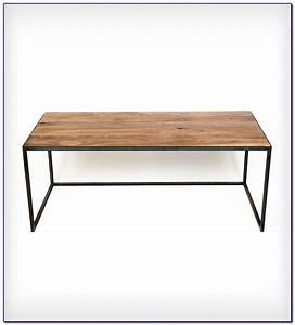 Wood Top Desk With Metal Legs Download Page – Home Design