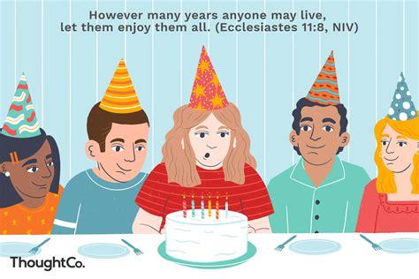 bible verses  birthday celebrations