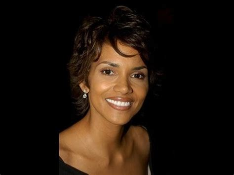 How to Style Short Hair like Halle Berry   YouTube