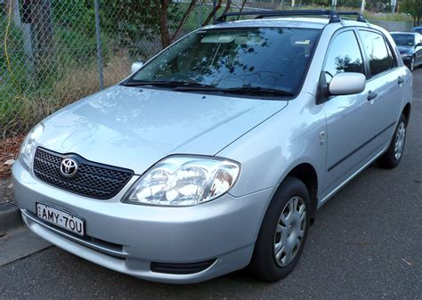 02 Toyota Corolla by File 2001 2003 Toyota Corolla Zze122r Ascent 5 Door