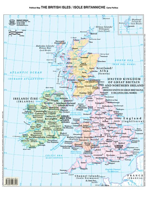 isole britanniche da banco bi facciale 29 7x42 cm