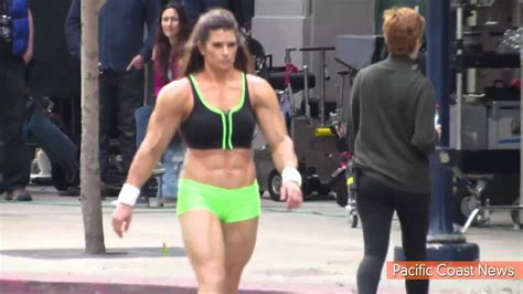 Danica Patrick Wears Muscle Suit for Super Bowl Commercial ...