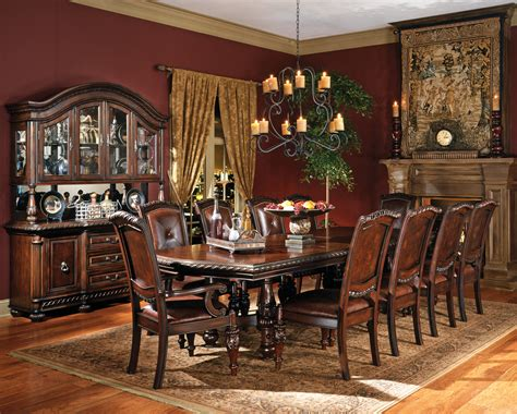 big dining room tables large wood dining room table home design ideas