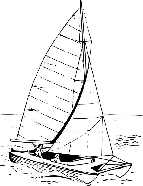 Catamaran Drawing by Coloriage Catamaran 224 Imprimer
