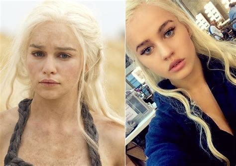 ¿conoces A La Doble Española De Emilia Clarke, Daenerys En