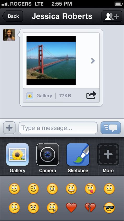 kik iphone kik messenger is updated for the iphone 5 iclarified
