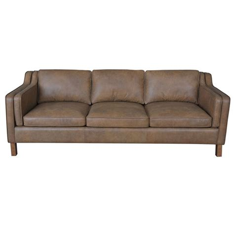 canapé sofa italia canape 86 inch oxford honey leather sofa upholstery