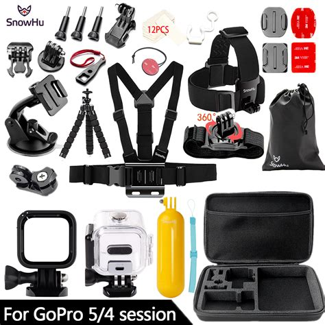 snowhu  gopro hero action camera accessories survival tube waterproof shell   pro