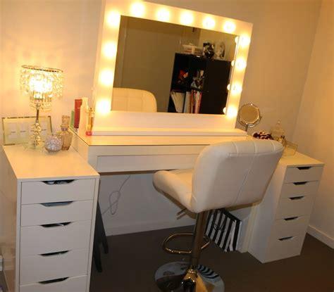 used broadway lighted vanity makeup desk broadway lighted vanity makeup desk bathroom floor tile