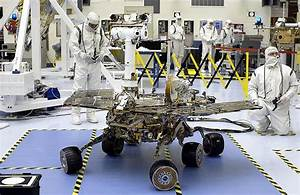 building mars rover opportunity in lab - Solar Panels ...