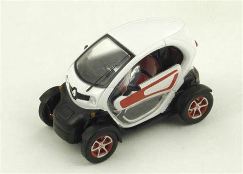 RENAULT Electric TWIZY 2011 White 1 43 Spark S4200 Model for sale online   eBay