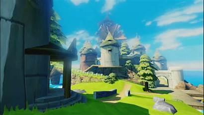 Waker Wind Zelda Legend Background Island Wallpapers