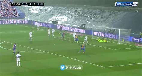 Barcelona vs. Real Madrid EN VIVO: Oscar Mingueza anotó el ...