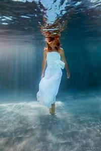 beautiful underwater fashion photography