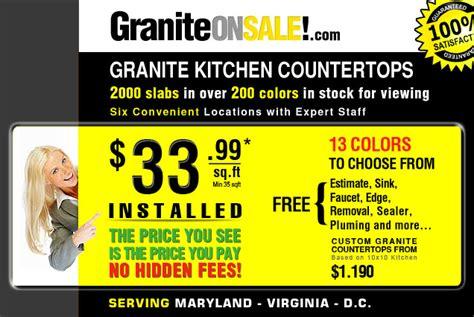 granite countertop sale volga blue granite sle photos kitchen photos