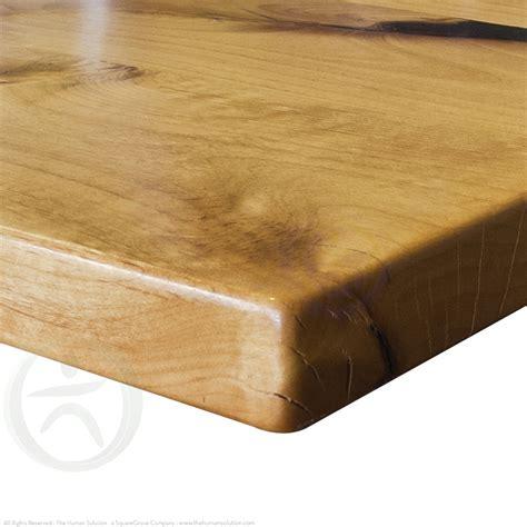natural wood desk top uplift natural knotty alder solid wood desktop