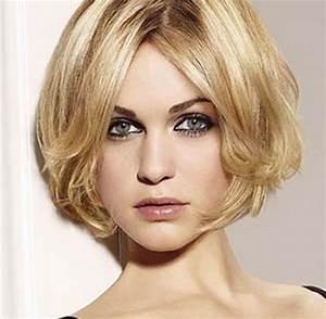 Coupe Cheveux Tete Ronde : coiffure courte cheveux fins raides ~ Melissatoandfro.com Idées de Décoration