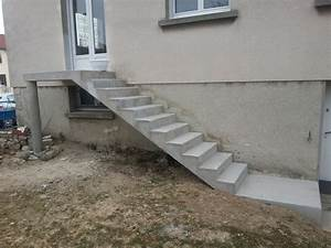 Prix Escalier Beton : escalier de jardin ag bat ~ Mglfilm.com Idées de Décoration