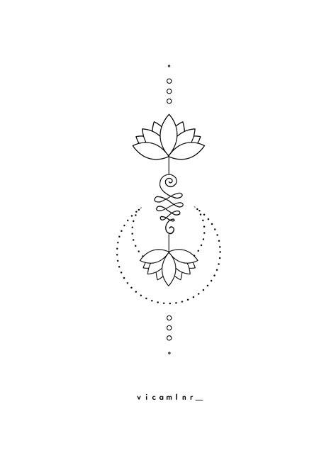 〰️unalome_lotus_sacred_geometry_spiritual_tattoo_design | Tattoo designs, Tattoos, Unalome tattoo