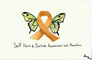 Self Harm Awareness Butterfly | www.pixshark.com - Images ...