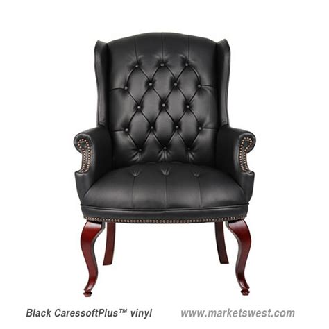 high back traditional executive guest chair