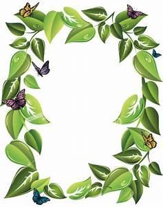 Leaf Border Clipart | Clipart Panda - Free Clipart Images
