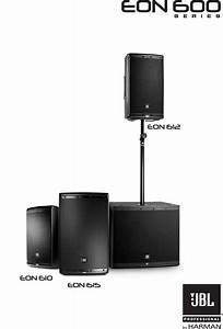 Eon618s Speaker User Manual Harman Industries