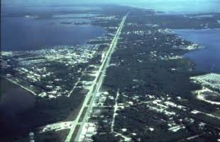 Aerial View of Key Largo Florida