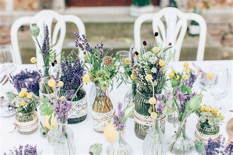 Tischdeko Mit Lavendel by Hochzeit Mit Lavendel Tischdeko Wildblumen Hochzeit