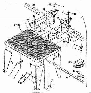 Craftsman 25444 Parts List And Diagram   Ereplacementparts Com