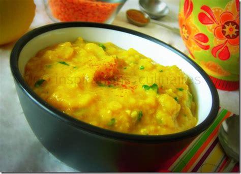 recette de cuisine indienne soupe de lentilles corail recette egyptienne le