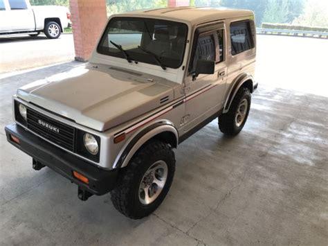 suzuki jeep 4 door 1988 suzuki samurai 2 door jeep wagon sport utility 1 3l