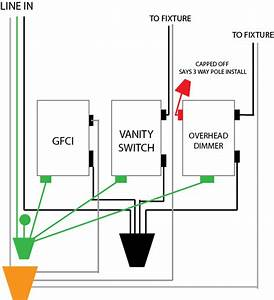 3 Gang 2 Way Switch Wiring Diagram