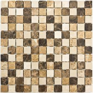 Carrelage Mosaique Pas Cher Belgique by Mosa 239 Que Marbre Mixcolor Marron Indoor By Capri