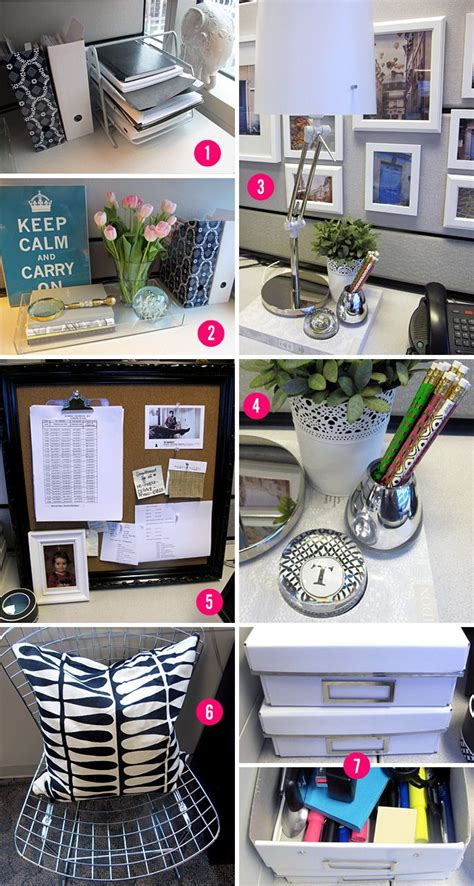 your cubicle space can be pretty and inspiring cubicle makeover empirella cubicle makeover