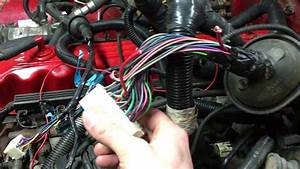 Jeep Yj 4 2 To 4 0 Engine Swap Wiring Part 1